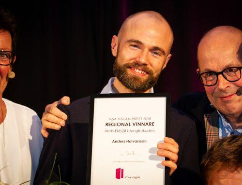 Anders Halvarsson vann årets eldsjäl i Gävle