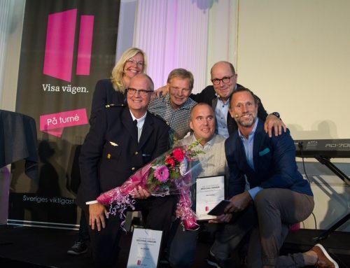 Visa vägen-vinnare prisades i Luleå
